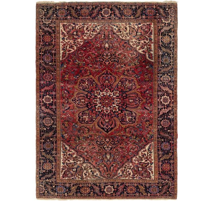 262cm x 360cm Heriz Persian Rug