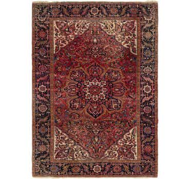 Image of 8' 7 x 11' 10 Heriz Persian Rug