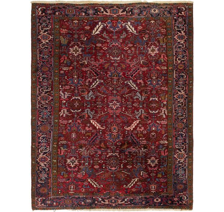 255cm x 335cm Heriz Persian Rug