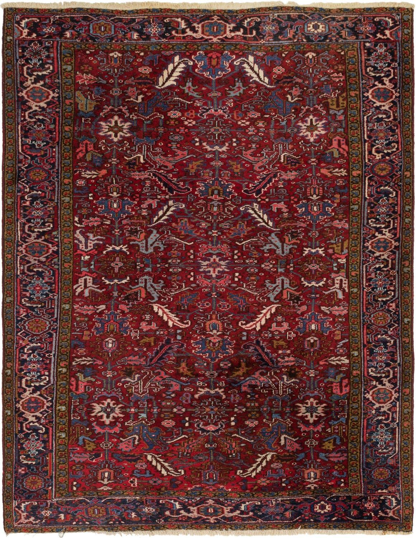 8' 4 x 11' Heriz Persian Rug main image