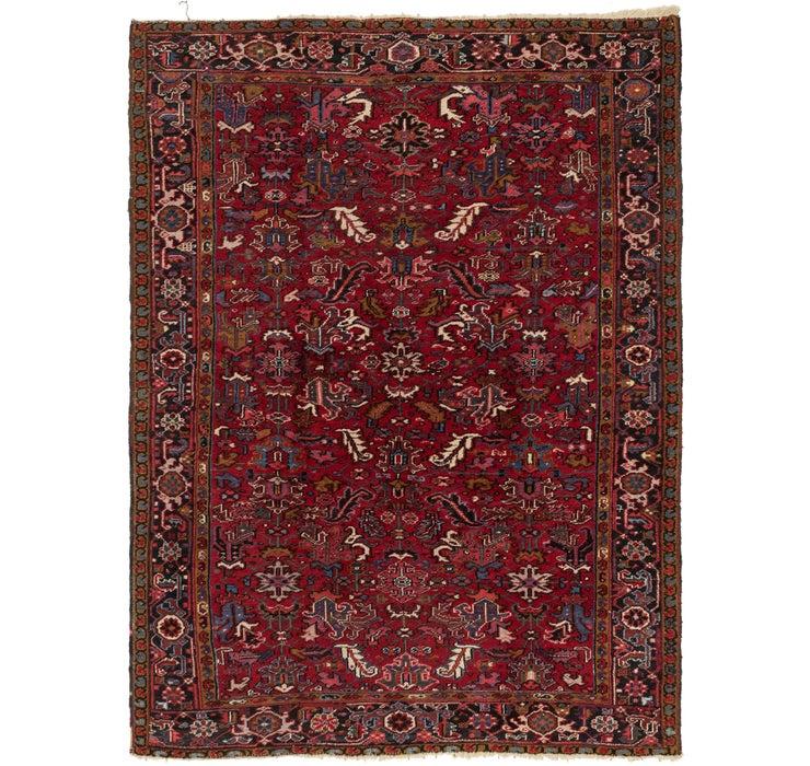 225cm x 305cm Heriz Persian Rug