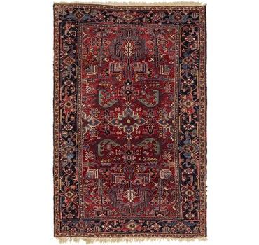 Image of 6' 2 x 9' 6 Heriz Persian Rug