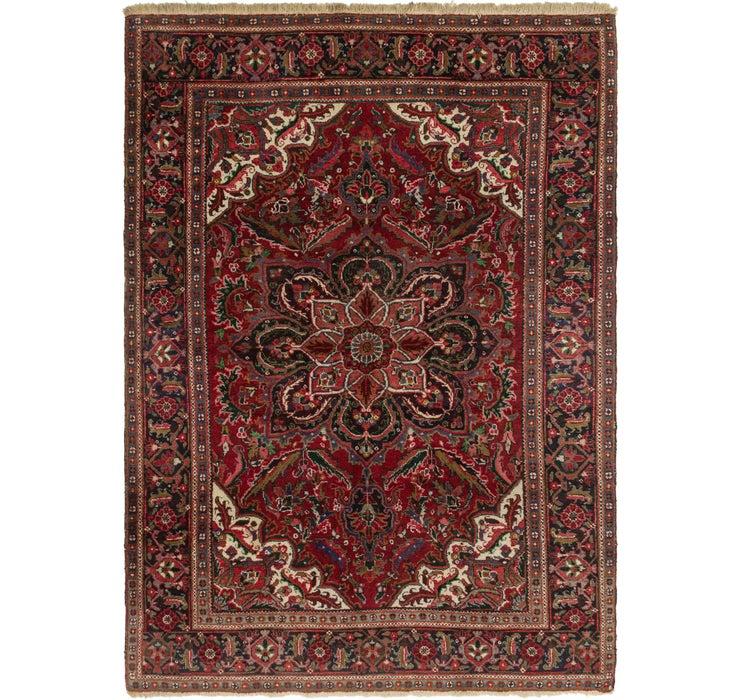 6' 9 x 9' 7 Heriz Persian Rug