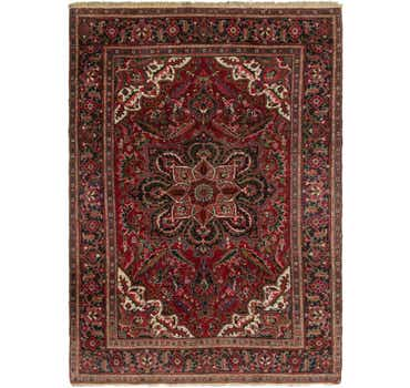 Image of 6' 9 x 9' 7 Heriz Persian Rug