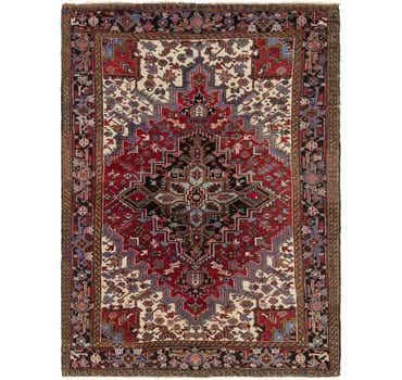 Image of 8' x 10' 10 Heriz Persian Rug