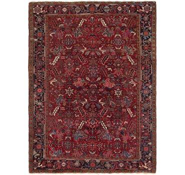 7' 9 x 10' 10 Heriz Persian Rug main image
