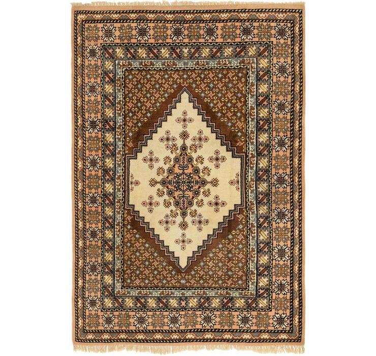 Image of 6' 7 x 9' 9 Moroccan Rug