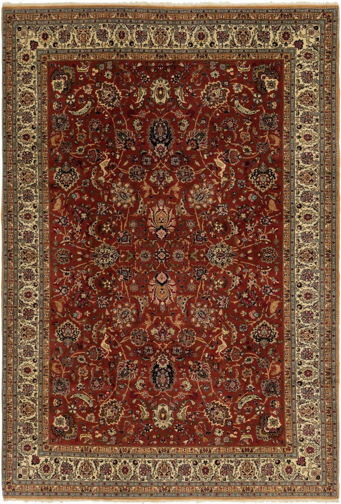 6' 9 x 10' Hereke Oriental Rug main image