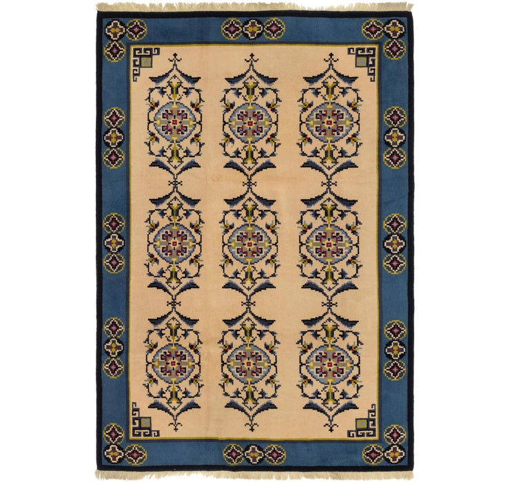 208cm x 323cm Antique Finish Rug