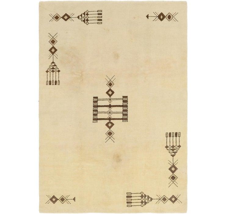 6' 7 x 9' 7 Moroccan Rug