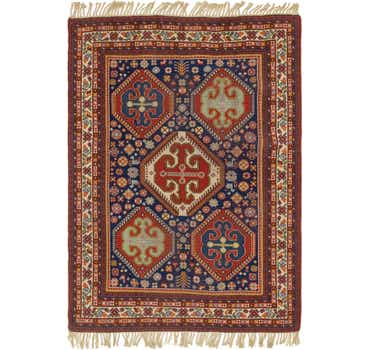 Image of  6' 6 x 9' Moroccan Rug