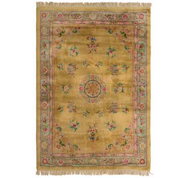 Image of 8' 2 x 11' 8 Carved Pekin Rug