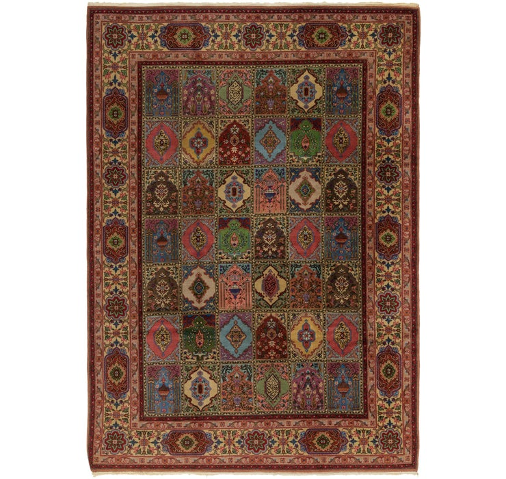 8' 3 x 11' 7 Sarough Rug