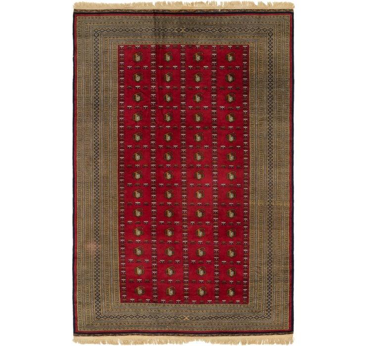 Image of  6' 2 x 9' 4 Bukhara Oriental Rug