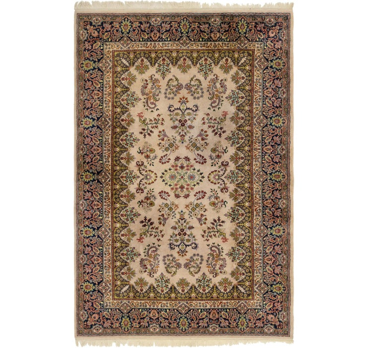 198cm x 305cm Sarough Rug