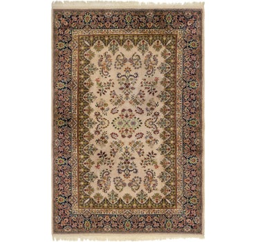 6' 6 x 10' Sarough Rug main image