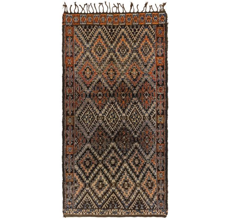 5' 9 x 11' 4 Moroccan Runner Rug