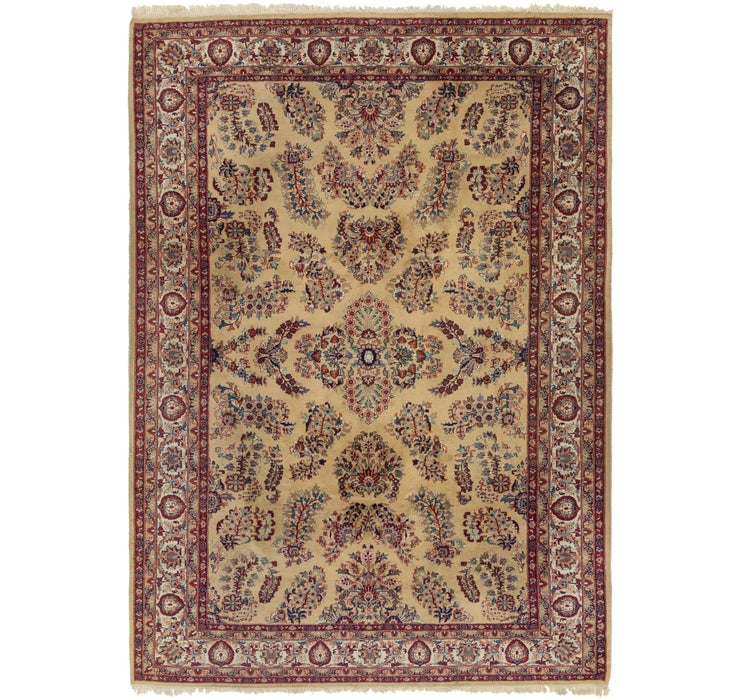 7' 8 x 10' 10 Sarough Rug