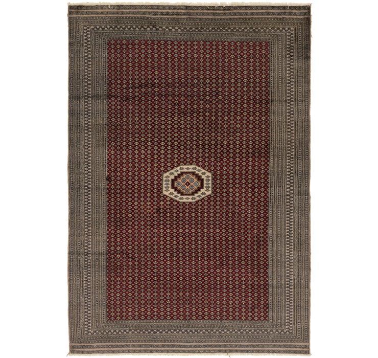 6' x 8' 10 Bokhara Oriental Rug