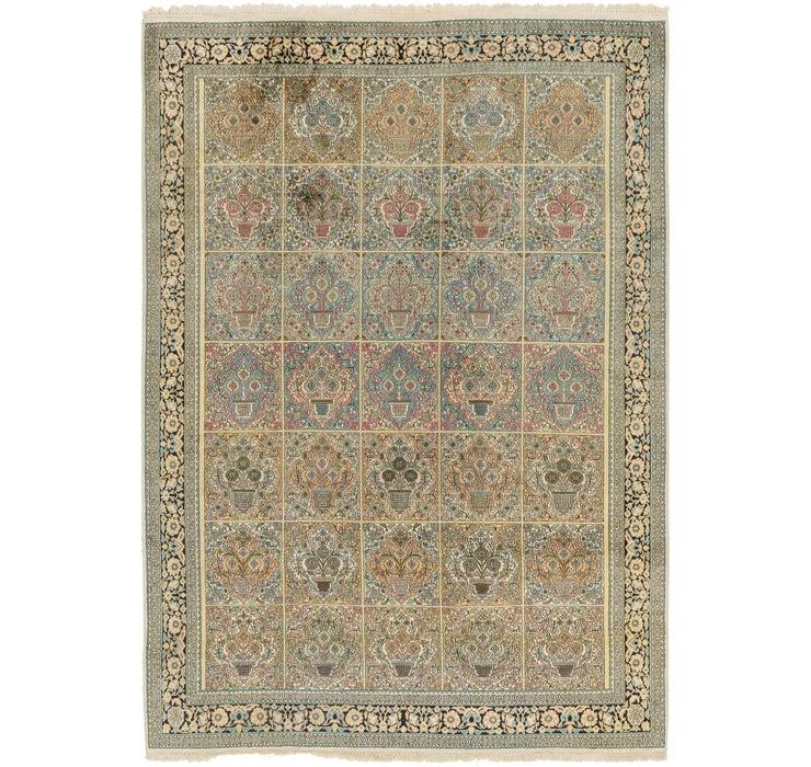 218cm x 310cm Kashmir Oriental Rug