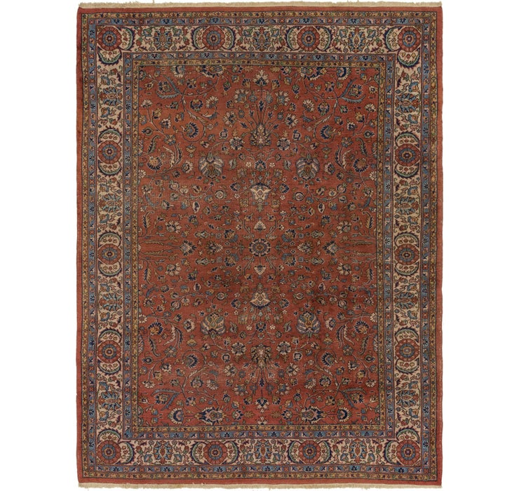 7' 9 x 10' 3 Sarough Persian Rug