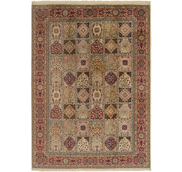 8' 3 x 11' 9 Sarough Oriental Rug