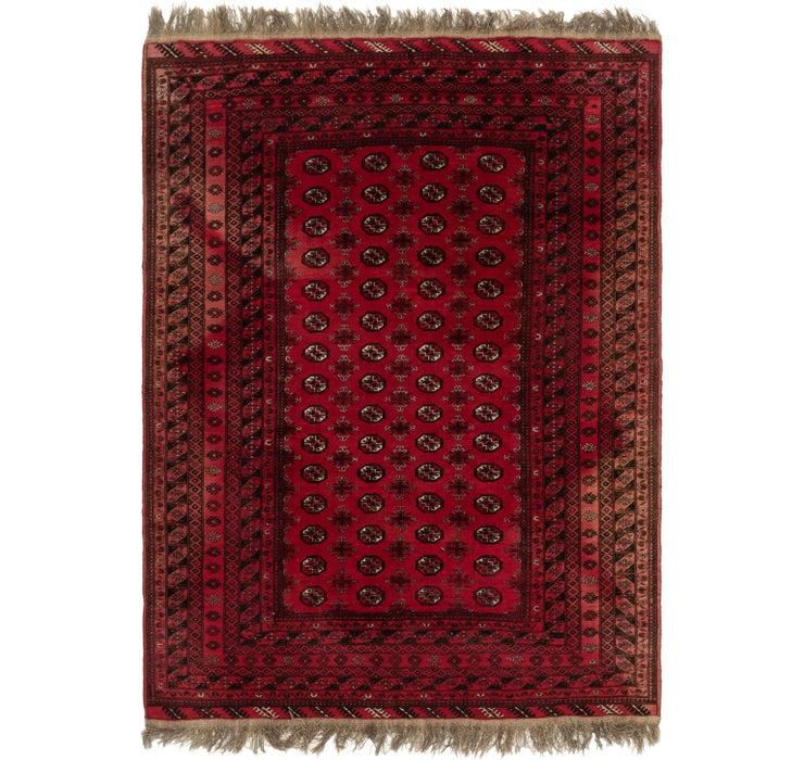 203cm x 275cm Afghan Akhche Rug
