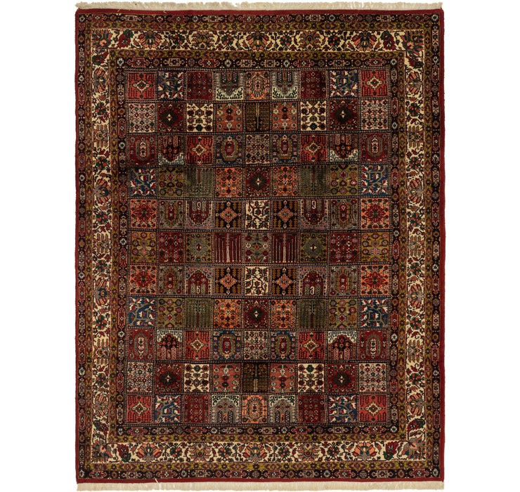 8' 8 x 11' 7 Sarough Oriental Rug