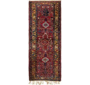 Image of 3' 8 x 10' Gharajeh Persian Runner...