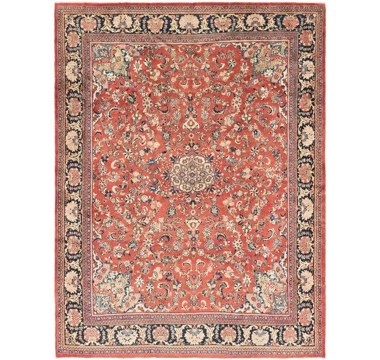 328cm x 427cm Meshkabad Persian Rug