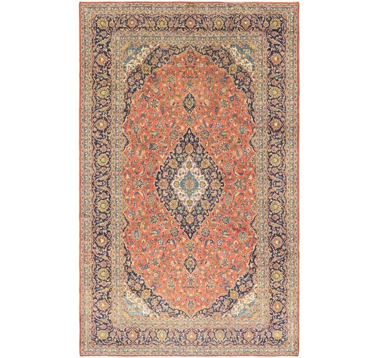 10' x 16' Kashan Persian Rug