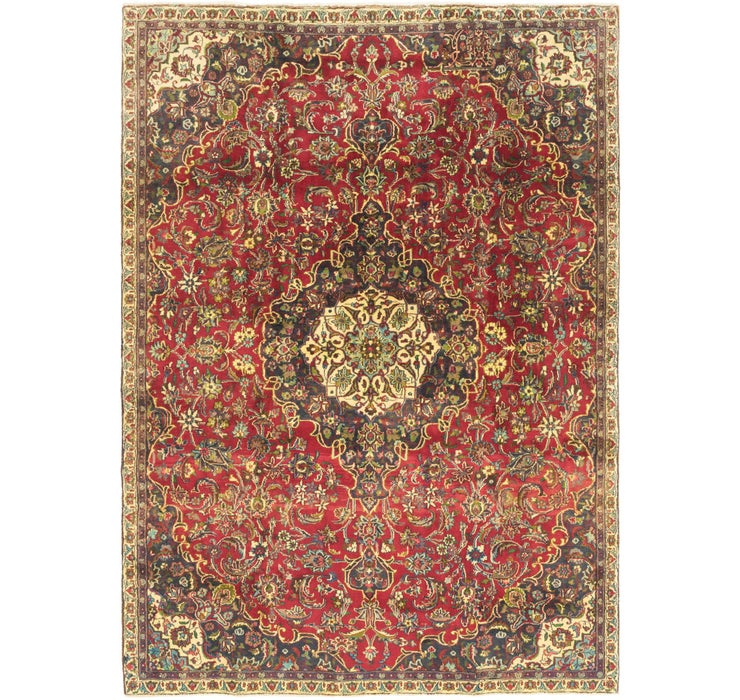 7' 4 x 10' Tabriz Persian Rug