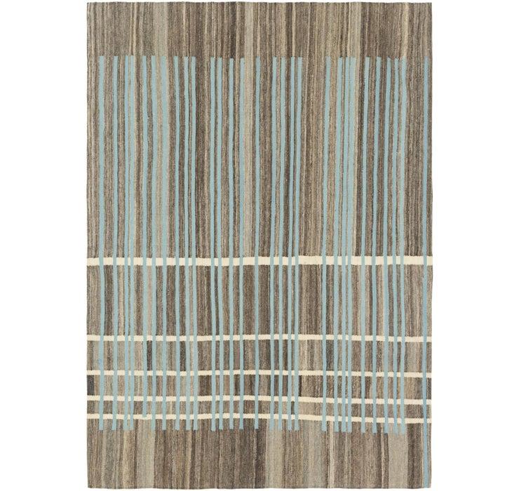 5' 9 x 8' 2 Kilim Modern Rug