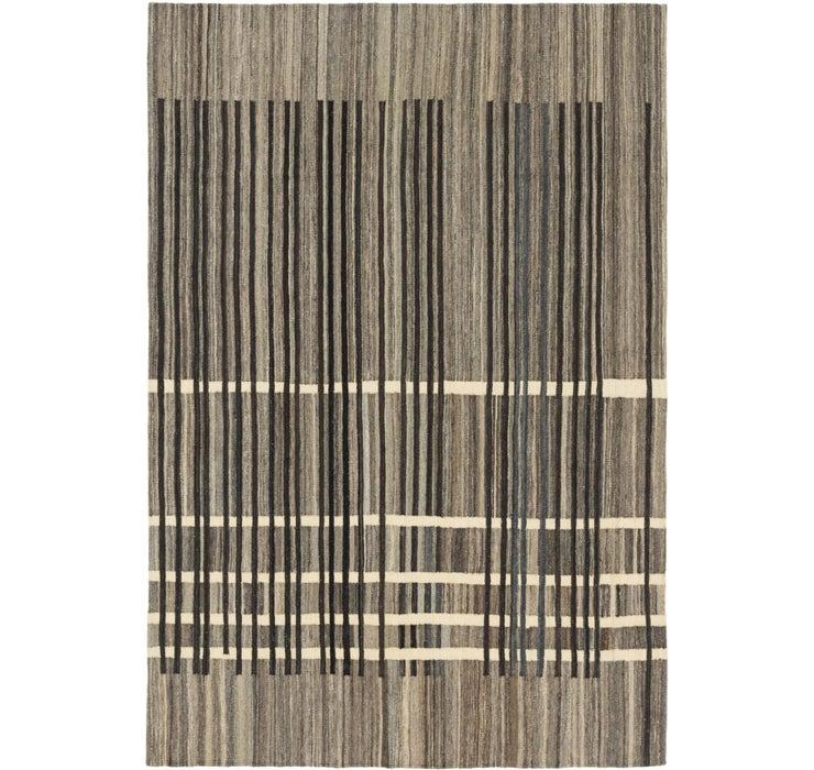 5' 5 x 8' 3 Kilim Modern Rug