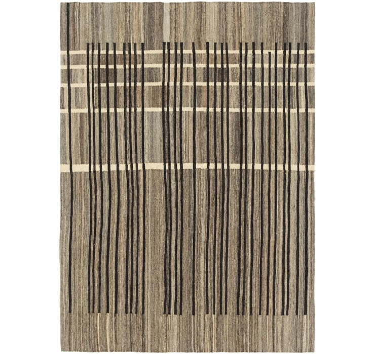 5' 9 x 8' Kilim Modern Rug