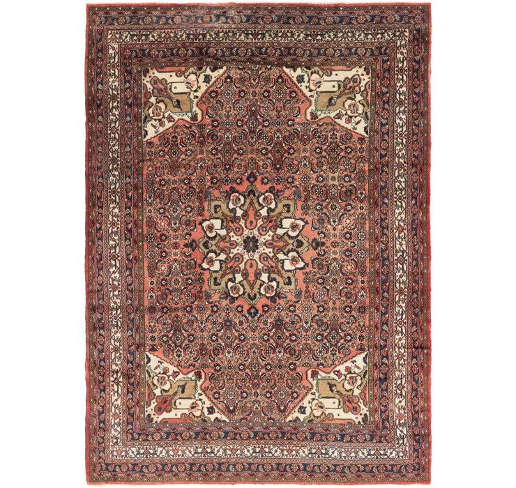 10' 4 x 14' 8 Hossainabad Persian Rug