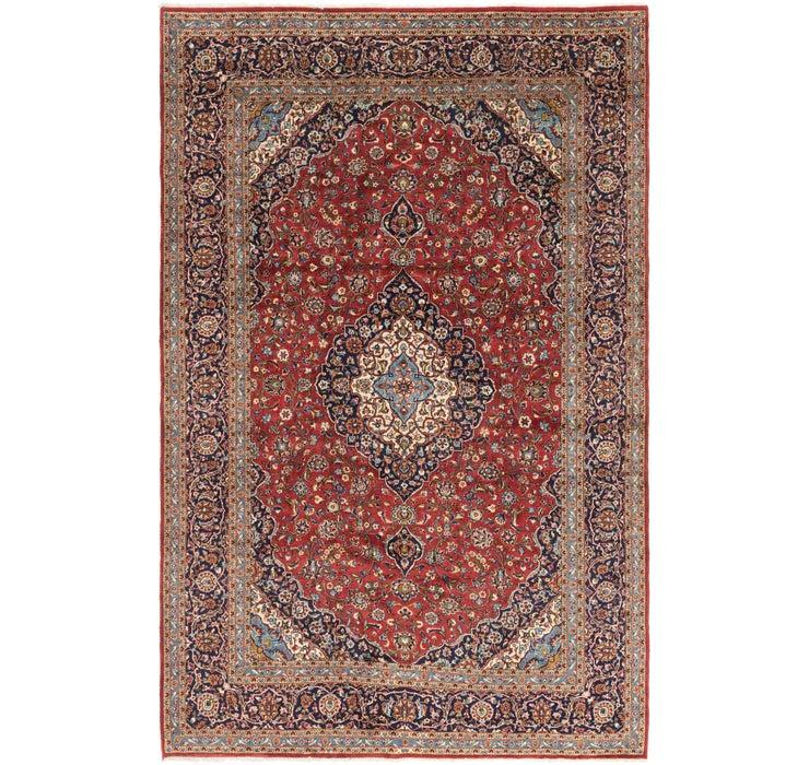 9' 10 x 15' 2 Kashan Persian Rug