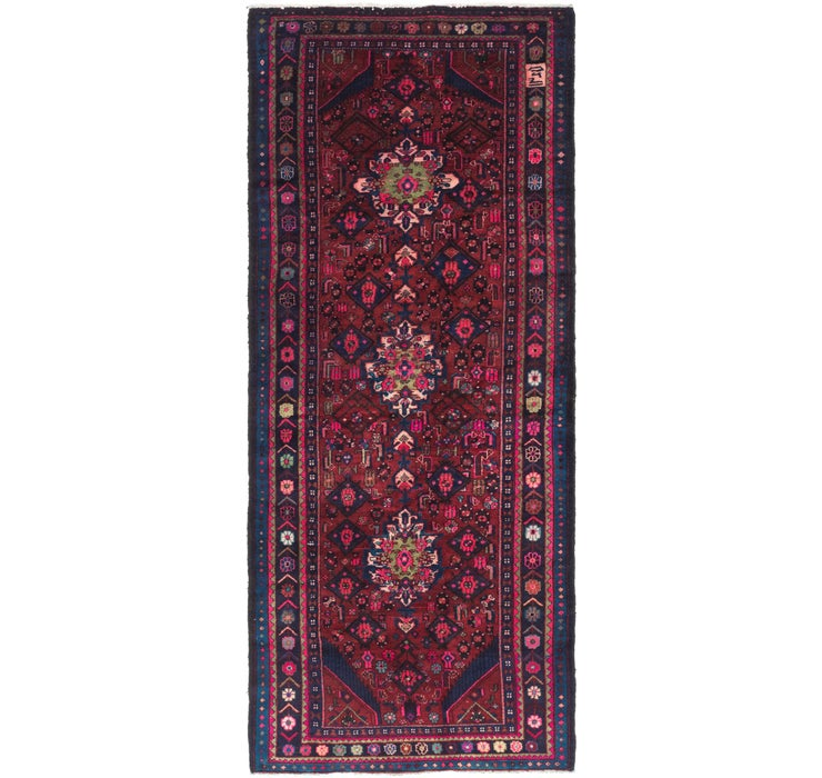 4' 9 x 12' Gholtogh Persian Runner...
