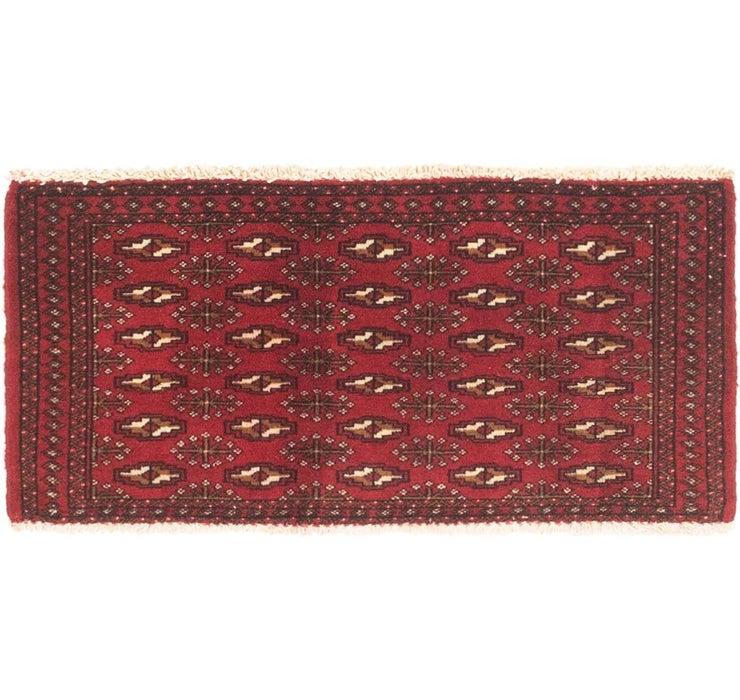 48cm x 102cm Torkaman Persian Rug
