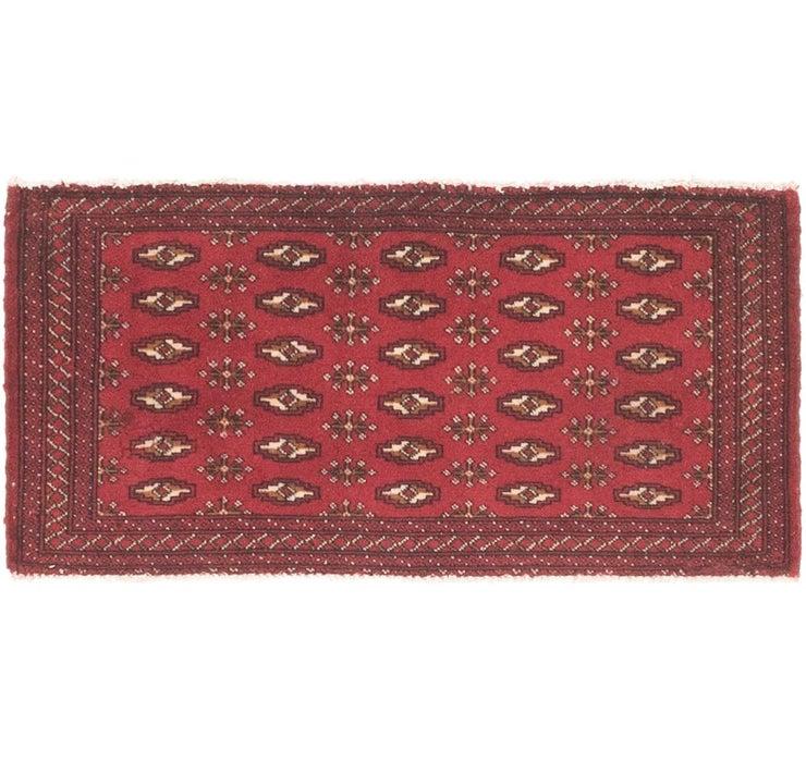 48cm x 105cm Torkaman Persian Rug