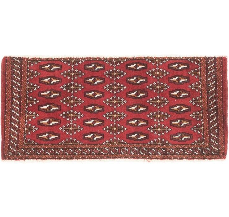 45cm x 107cm Torkaman Persian Rug