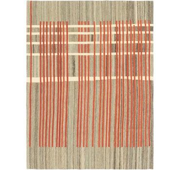 5' 10 x 7' 9 Kilim Modern Rug main image