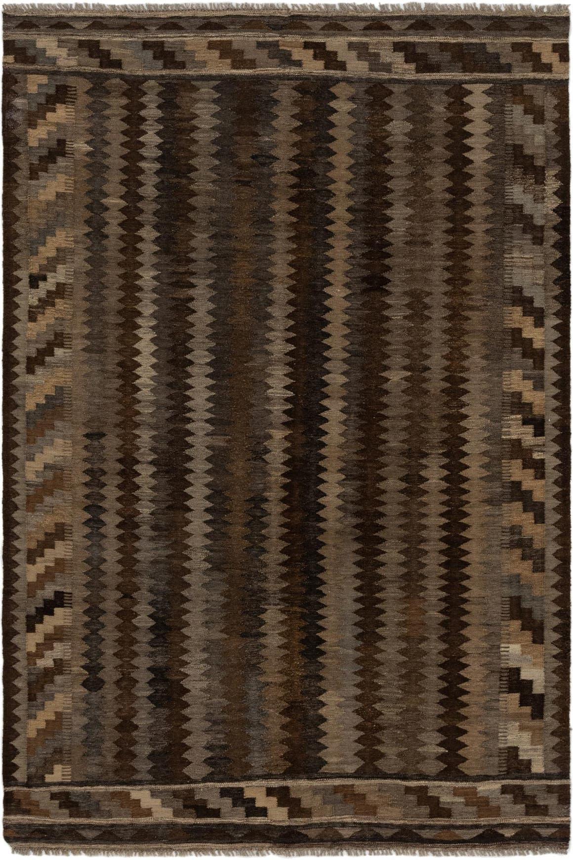 5' 7 x 8' 4 Kilim Modern Rug main image