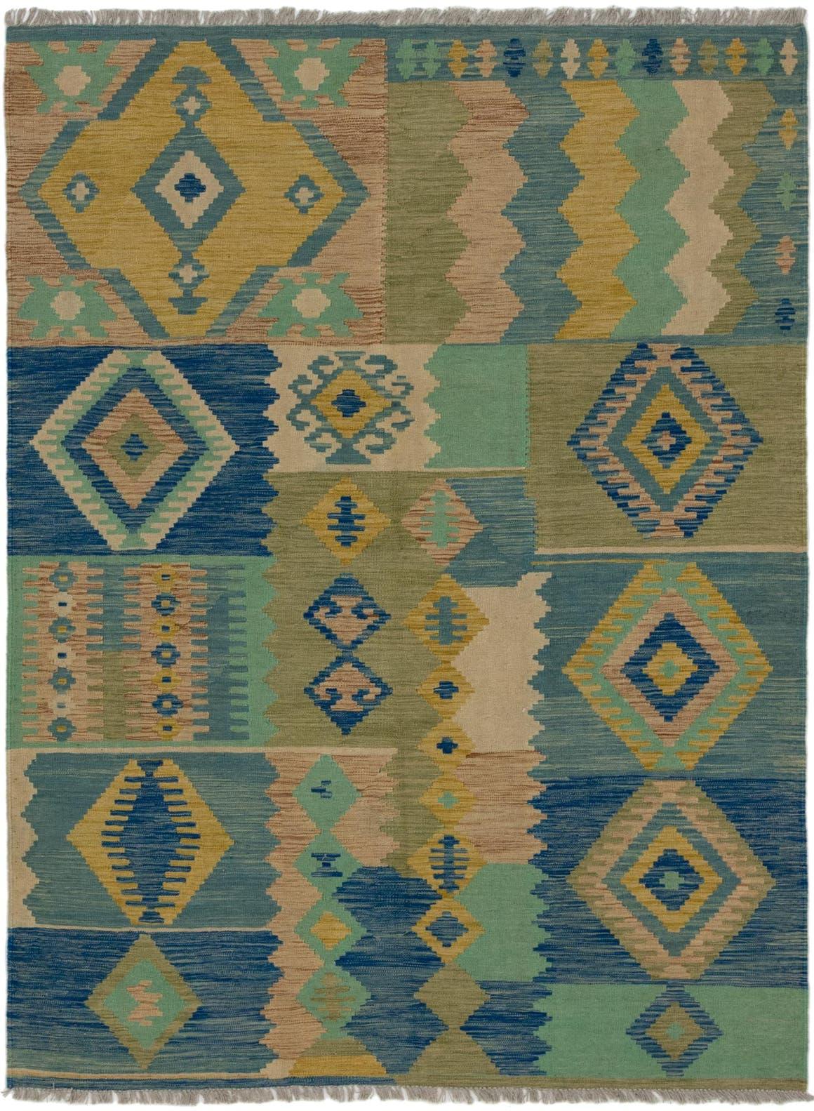 5' 9 x 8' Kilim Modern Rug main image