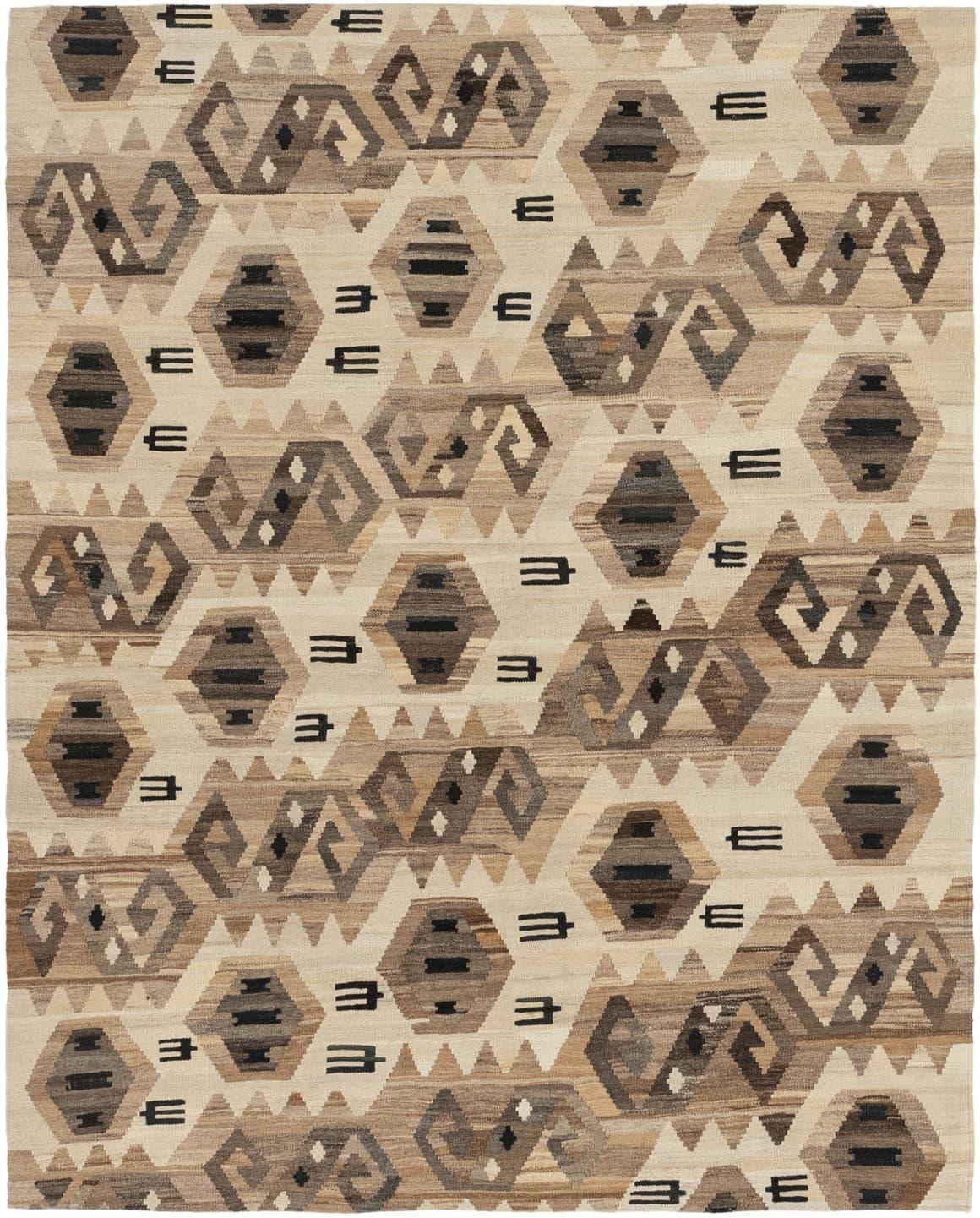 6' x 7' 3 Kilim Modern Square Rug main image