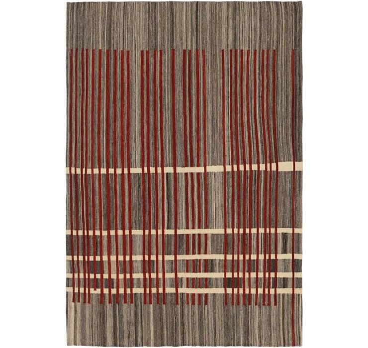 5' 6 x 8' 2 Kilim Modern Rug