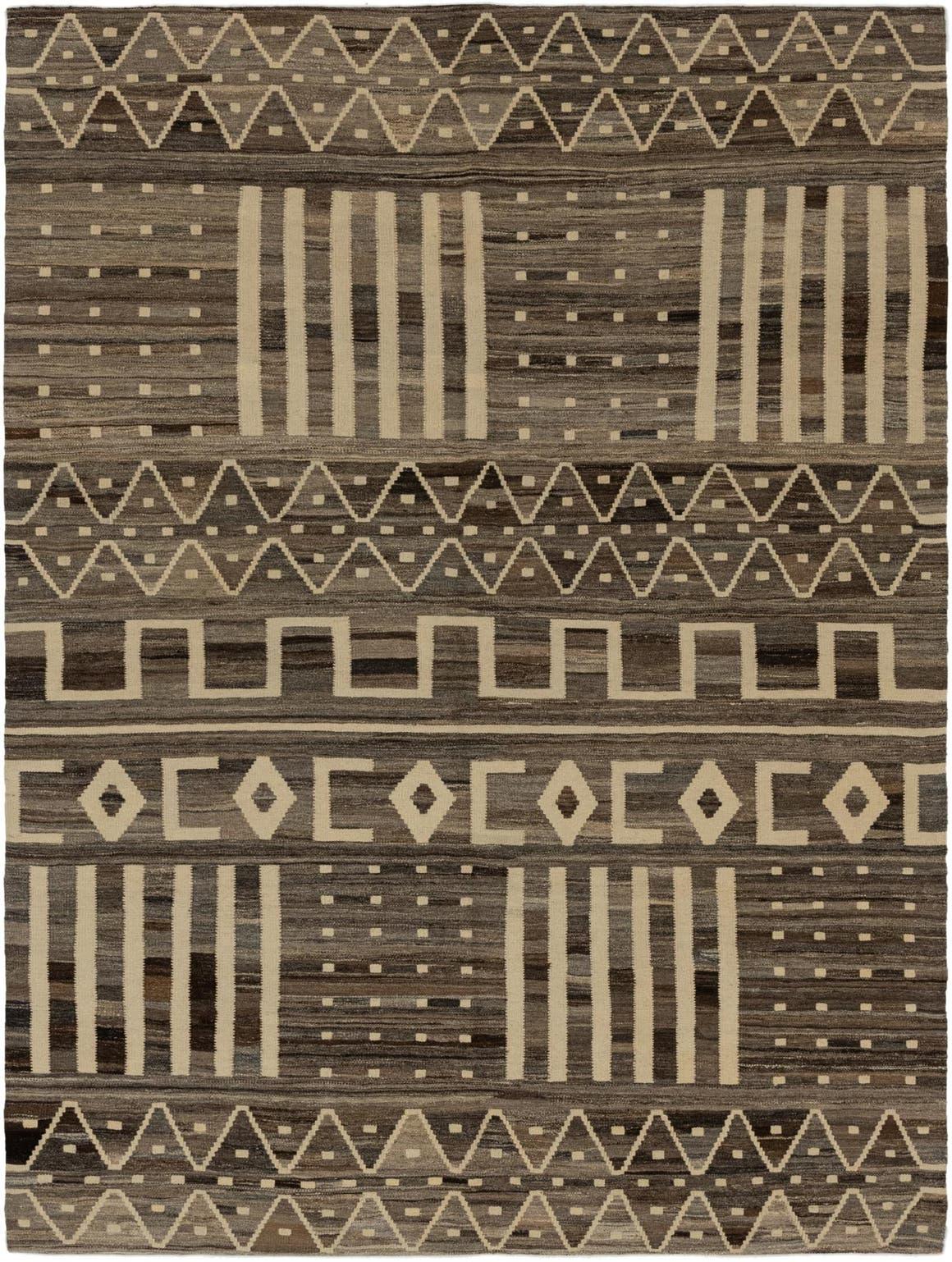 6' 2 x 8' Kilim Modern Rug main image