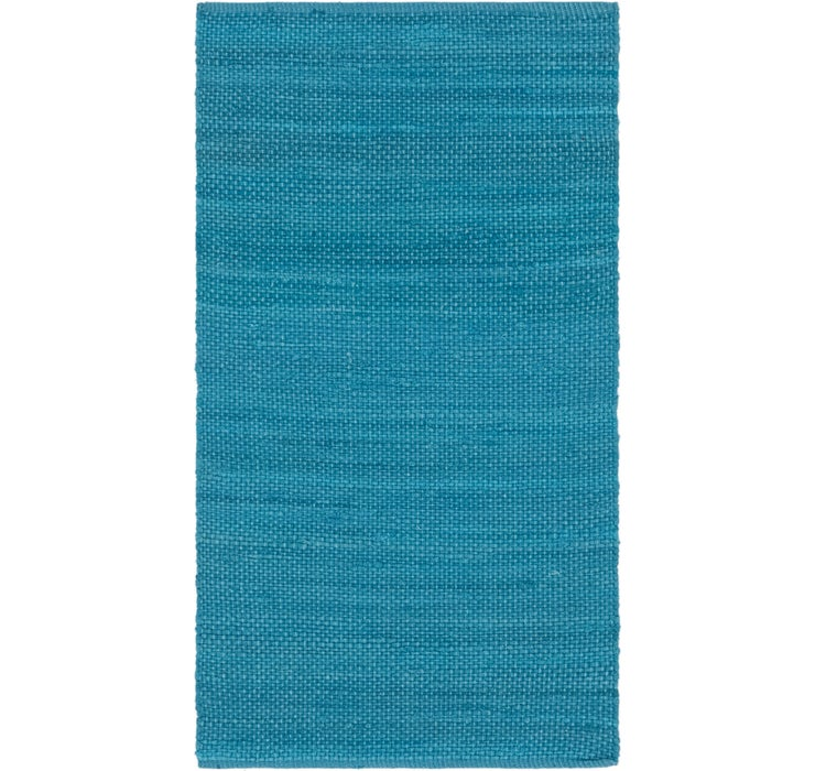 80cm x 147cm Chindi Cotton Rug
