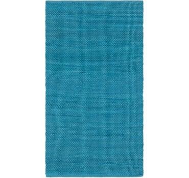 2' 8 x 4' 10 Chindi Cotton Rug main image