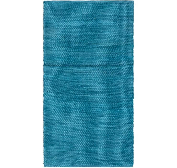 80cm x 152cm Chindi Cotton Rug